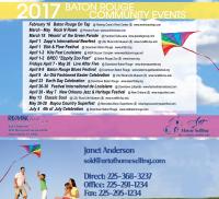 Baton Rouge Realtor Festival Postcard